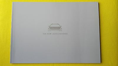 Jeep Cherokee official dealer marketing paper brochure May 2014 print MINT