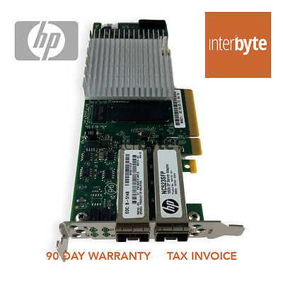 HP NC523SFP ETHERNET 10Gb SFP 2P SERVER ADAPTER 593742-001 CARD