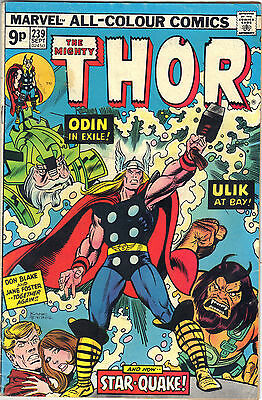 The Mighty THOR 239 Sept 1975 Marvel Comics Price Includes Delivery in UK