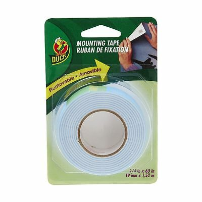 Duck Removable Mounting Tape 19.1mm x 1.5m