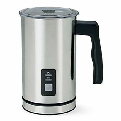 BRAND NEW 250ml ELECTRIC AUTOMATIC MILK FROTHER & MILK WARMER COFFEE 500W