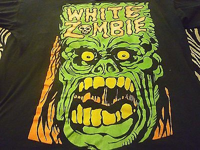 White Zombie Vintage Shirt ( Used Size XL ) Distressed Condition!!!