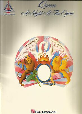 Queen A Night At The Opera Guitar Tab Tablature Song Book
