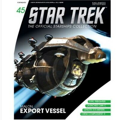 Star Trek: The Official Starships Collection - Malon freighter.