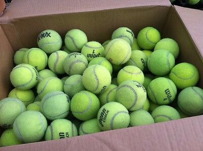 40 Used Mixed brand Tennis Balls for Schools, Chairs & Dog Toys