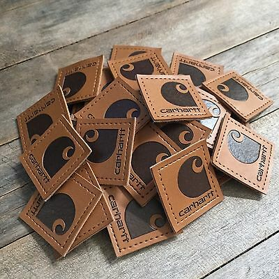 Leather Carhartt Patches