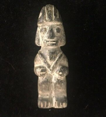 Antique Carved Stone Figure Amulet Ancient ?