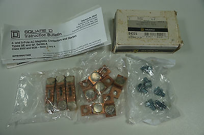 Square D 9998 size 4 motor starter contact repair kit (Unused)