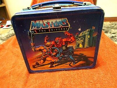 Masters of the Universe He Man Metal Lunchbox