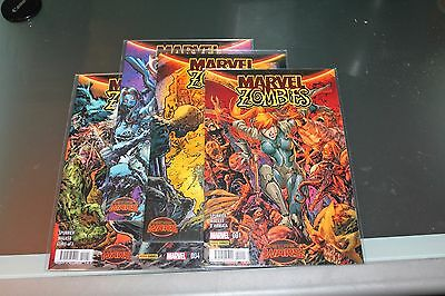 Secret Wars Marvel Zombies Completa 1 al 4 Panini