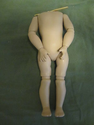 """Reproduction Ball Jointed Doll Body, Resin ? ~12"""" Tall"""