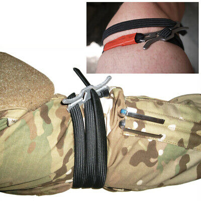 Survival Gear Medical Tourniquet Lightweight One hand Handle First Aid