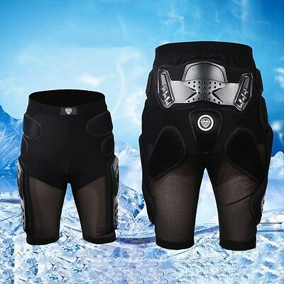 New Motorcycle Shorts Skiing Cycling Sports Hip Padded Armour Protective Gear