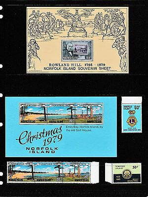 Australia Norfolk Island     Over 100 Stamps Not Used Or Hinged