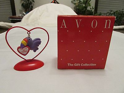 """Valentine Ornament Avon Love Notes Toucan """"Two can be friends"""""""