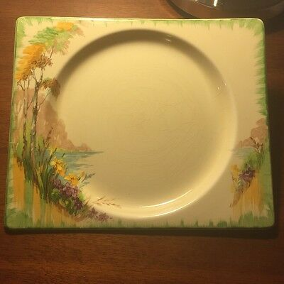 The Biarritz, Royal Staffordshire, Rectangular Plate