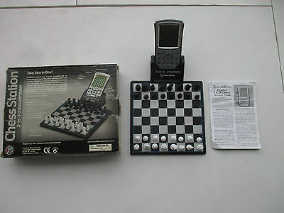 Chess Station 2-in-1 Chess Computer by Excalibur Electronics