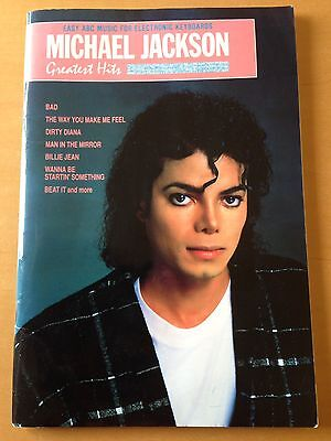 Michael Jackson Greatest Hits Easy ABC Music For Electronic Keyboards