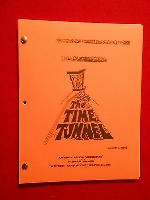 "Script from the 1966  Irwin Allen TV series ""Time Tunnel"""