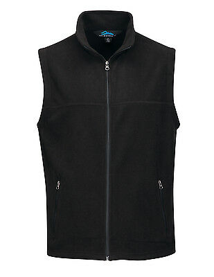Tri-Mountain Men's Sleeveless Full-Zip Micro Fleece Winter Vest. F8358