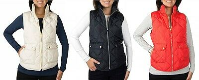 Woolrich Women's Genuine Down Filling Vest With Pockets Variety Size/color Nwt
