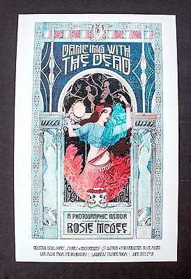 """Dancing With The Dead ROSIE MCGEE Event Book POSTER PRINT ART 16.5"""" x 10.5"""""""