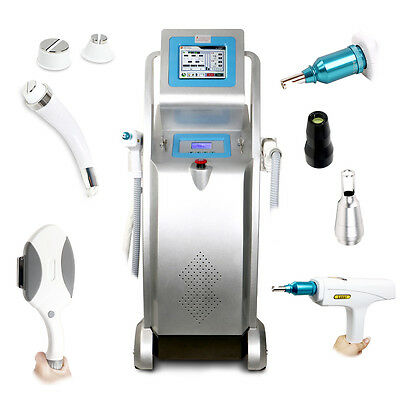 E Light IPL Hair Removal RF Skin Rejuvenation ND Yag laser Tattoo Removal Beauty
