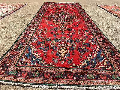3x10 HAND KNOTTED PERSIAN IRAN RUG RUNNER ANTIQUE WOVEN 3 x 10 wool made 4 9 11