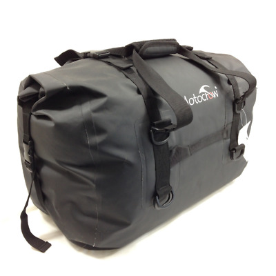 Waterproof Travel Bag 48 Litre Duffel Bag Motocrow Dry Bag Motorcycle Camping