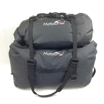 Waterproof Travel Bag 22L and 48L Motorcycle Camping x 2 Dry Bags Barrel Duffel