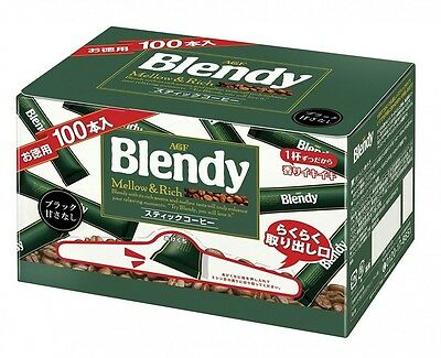 AGF Blendy instant coffee stick 2g × 100P Japan Import Free Shipping