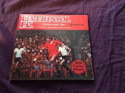 Liverpool F.C Official Annual 1980 By John Keith