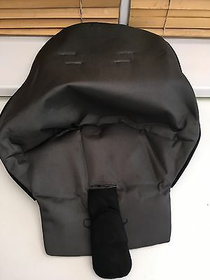 Quinny Buzz 3/4 XL 2nd Stage Seat Cover,  Dark Grey And Black FREE postage 1