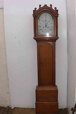 longcase grandfather clock with free worldwide post!