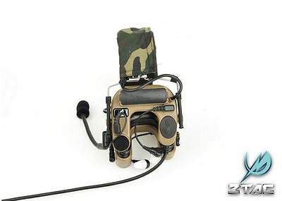 Z-Tactical ZTAC Z038  zCOMTAC IV IN-THE-EAR HEADSET w/ Noise Protection - TAN