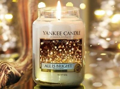 Yankee Candle ALL IS BRIGHT 623 gr. - AKTION