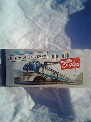 The Texas and Pacific Railroad Unused Ticket (#25)