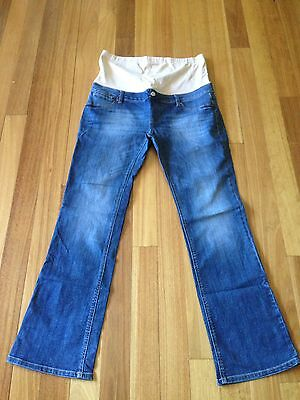Jeanswest Maternity Slim Bootcut Jeans Size 16