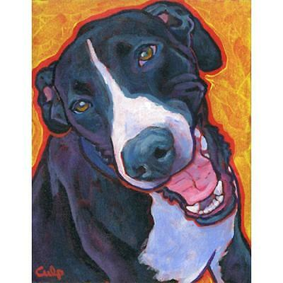 Smiling Mantle Great Dane Print 8x10 by Lynn Culp (LC017P) - Free Shipping