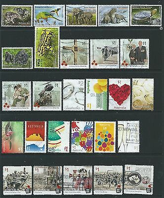 Australia - 4 Sets, 2016 Commemorative Sheets Stamps Used