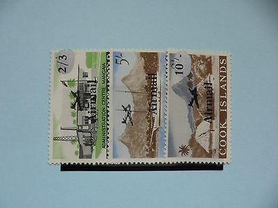 Cook Islands Stamps, 1966, Air, SG190-192, Mint never hinged