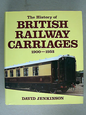 """""""the History Of British  Railways Carriages 1900-1953."""""""