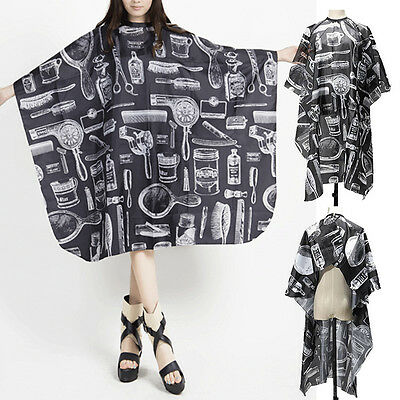 Adult Salon Barbers Hairdresser Hair Cutting Cape Gown Hairdressing Cloth Apron