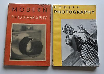 Modern Photography 1931 &1932 Revue Anglaise