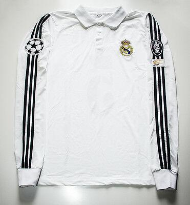 Camiseta Futbol Retro/ Zidane Real Madrid Final Champions 2002