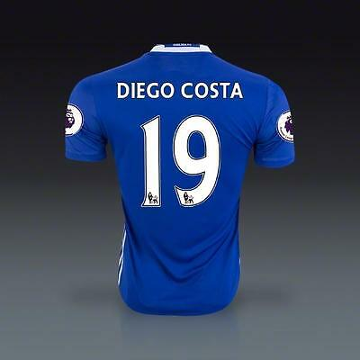 FC Chelsea Home Jersey DIEGO COSTA 19 Soccer in XL size