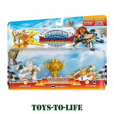 SKYLANDERS SUPERCHARGERS | SKY RACING ACTION PACK - BNIB | Comp. on all consoles