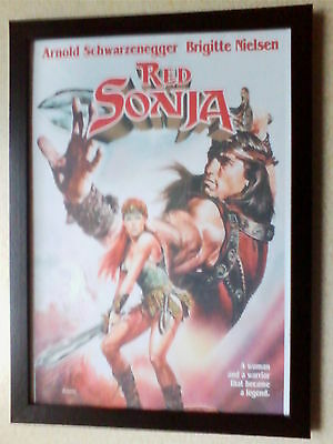 Red Sonja (1985) movie poster framed print