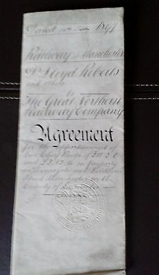Railway Agreement-1897-Manchester-Great Northern Railway Company.