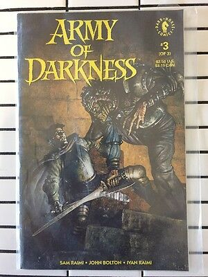 ARMY OF DARKNESS #3 Comic 1993 Ash V's Evil Dead Sam Raimi  Bruce Campbell